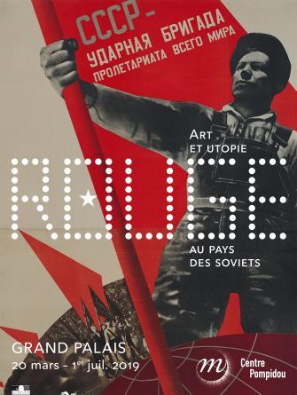 Exposition – Rouge. Art et utopie au pays des Soviets