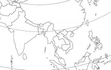 L'Asie du Sud et de l'Est (États)