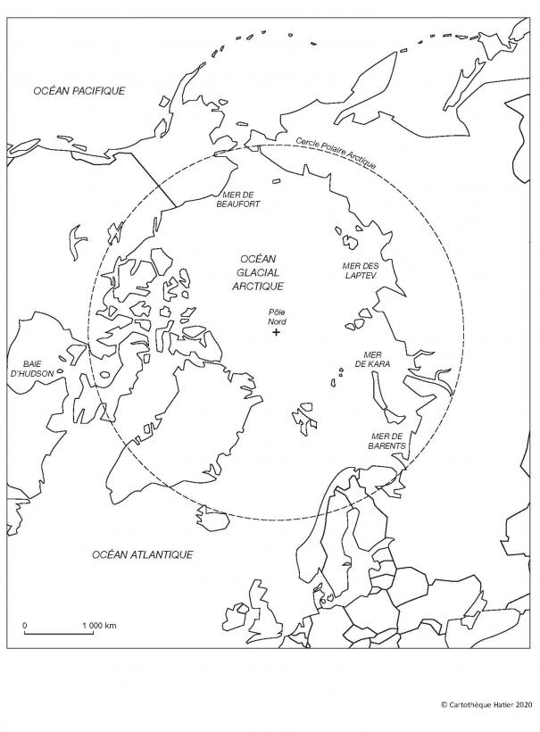 L'océan glacial Arctique