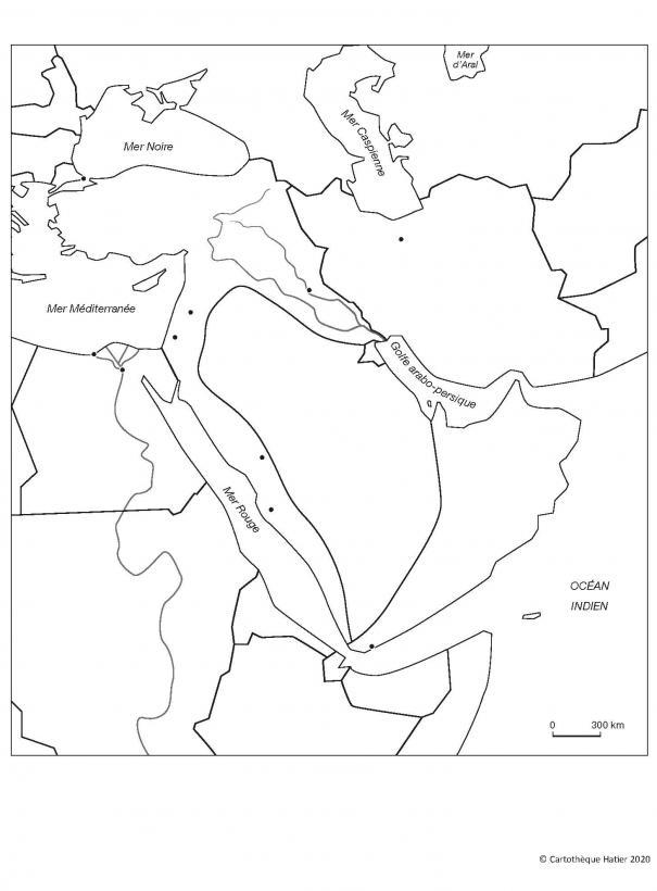 Le Moyen-Orient en 1914