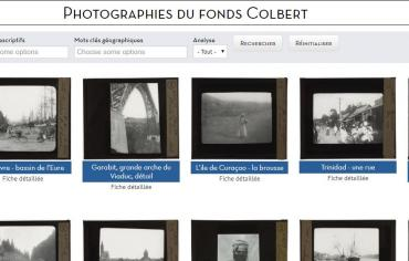Site - Photographies du Fonds Colbert