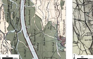 """""""Carte à la une : reconstituer le Rhin disparu """""""