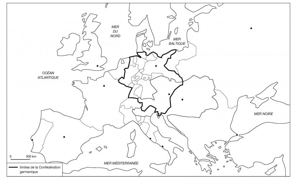L'Europe en 1815