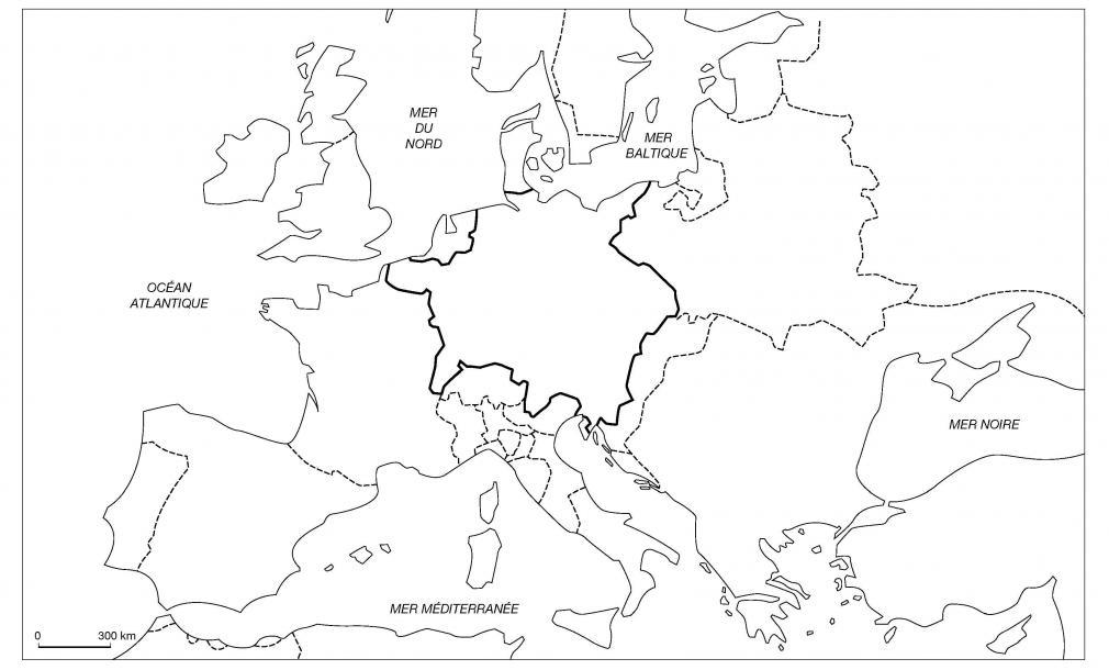 L'Europe en 1648