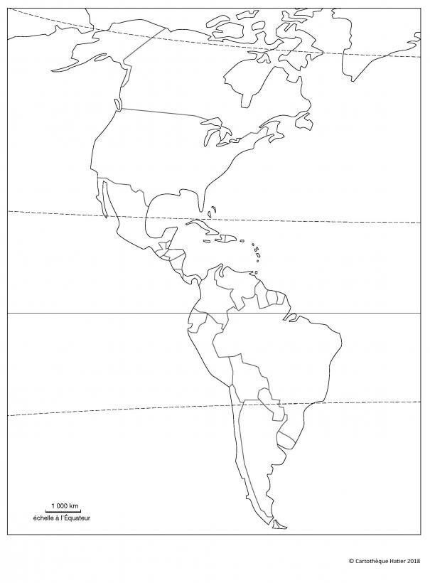 L'Amérique (États)