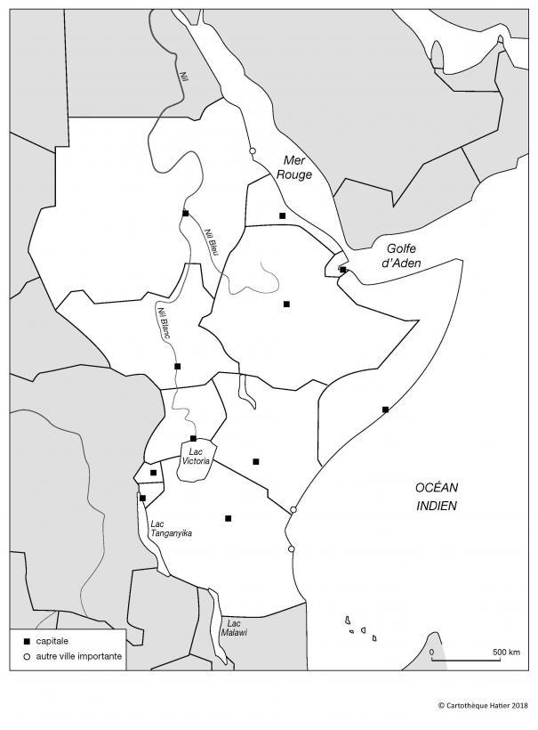 L'Afrique orientale