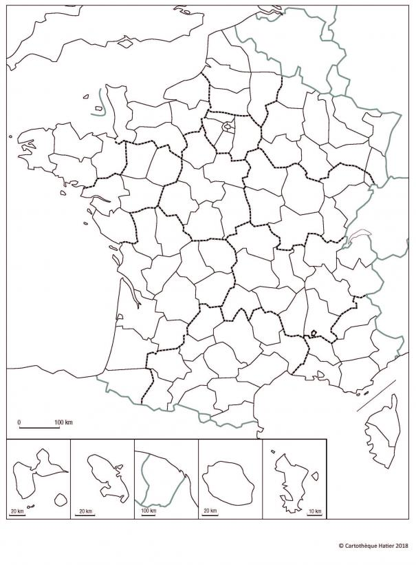 La France (départements)