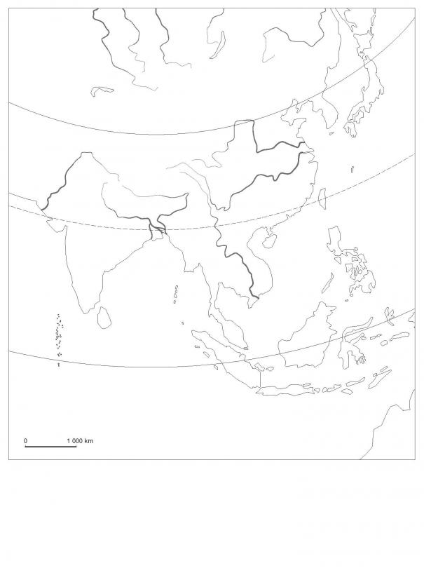 L'Asie du Sud et de l'Est